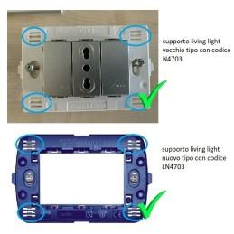 Cassetta di derivazione GEWISS da incasso serie GW48004 (...